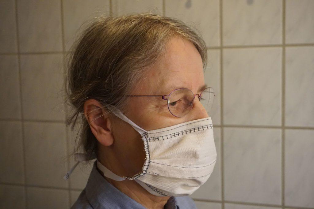 Aquí se explica cómo usar la máscara